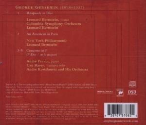 Gershwin: Rhapsody in Blue-An American in Paris