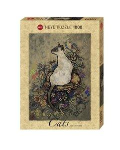 Standardpuzzle Cats Siamese 1000 Teile