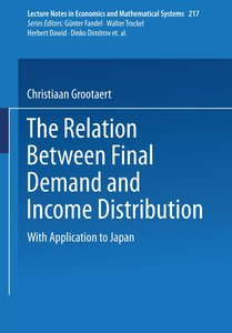The Relation Between Final Demand and Income Distribution