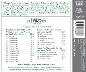 Werke Für Cello Und Klavier Vol.2