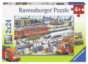 Ravensburger 091911 - Trubel am Bahnhof