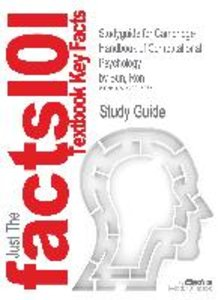 Studyguide for Cambridge Handbook of Computational Psychology by