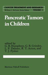 Pancreatic Tumors in Children