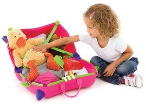 Knorrtoys 10103 - Trunki Kinderkoffer Trix, pink, Reisekoffer