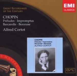 Cortot, A: Preludes,Impromptus/+