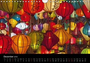 Indochina (UK-Version) (Wall Calendar 2016 DIN A4 Landscape)