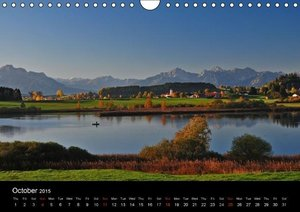 Romantic Places In Bavaria (Wall Calendar 2015 DIN A4 Landscape)