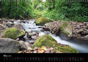 Costa Rica Volcanoes and Rainforest (Wall Calendar 2015 DIN A3 L