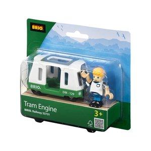 Brio 337310 - Straßenbahn-Wagen mit Figur