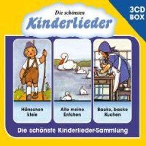 Die Schönsten Kinderlieder - 3-CD Liederbox Vol. 1