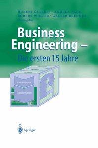 Business Engineering - Die ersten 15 Jahre