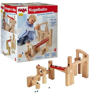 HABA 1136 - Kugelbahn-Bausatz, Grundpackung
