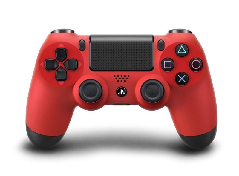 PlayStation 4 - Dualshock 4 Wireless Controller - Rot - zum Schließen ins Bild klicken