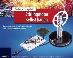 Lernpaket - Stirlingmotor selbst bauen, Bausatz Stirlingmotor +