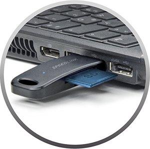 Speedlink NOBILÉ kompakter 9-in-1 Kartenleser USB 3.0, schwarz