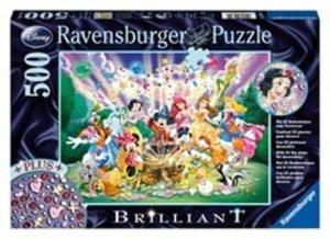Ravensburger 14872 - Mickey auf Schatzsuche, Brilliant Puzzle, 5