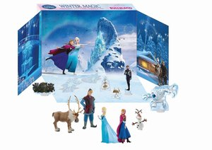 Bullyland 12200 - Fozen Adventskalender, Walt Disney