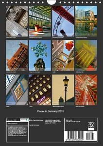 Places in Germany 2015 (Wall Calendar 2015 DIN A4 Portrait)