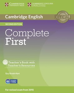 Complete First - Second Edition. Teacher's Book with Teacher's R