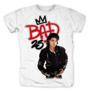 Bad 25,Shirt,GR L,Weiß