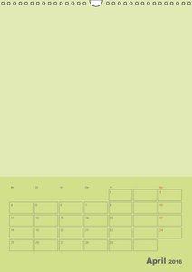 Bastel Terminkalender (Wandkalender 2016 DIN A3 hoch)