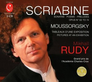 Klavierwerke von Mussorgsky und Skriabin
