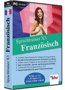 Sprachtrainer X3 Französisch