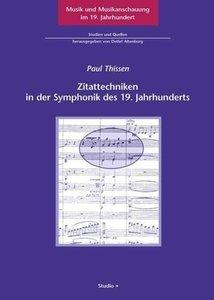 Zitattechniken in der Symphonik des 19. Jahrhunderts