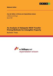 An Analysis of Adequate OECD Transfer Pricing Methods for Intang