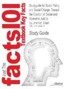 Studyguide for Social Policy and Social Change