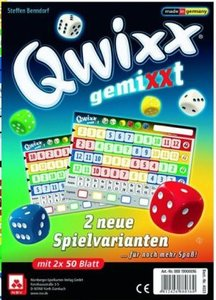 Qwixx gemiXXT - 2er Set Zusatzblöcke