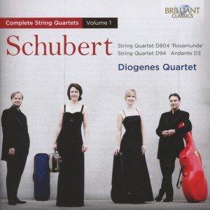 Schubert: Streichquartette Vol.1