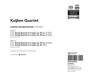 Streichquartette op.59,String Quintet op.29
