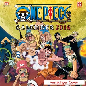 One Piece - Wandkalender 2016