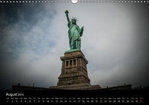 New York Shoots / UK-Version (Wall Calendar 2015 DIN A3 Landscap