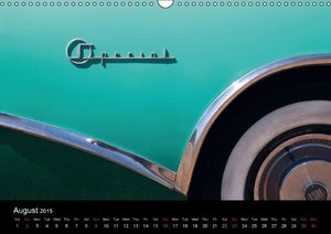 Classic Cars (UK-Version) (Wall Calendar 2015 DIN A3 Landscape)