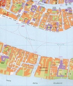 MAP-INTL TRAVEL MAPS VENICE IT