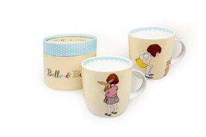 """Belle & Boo Tasse. Motiv: """"Belle trifft Boo"""""""