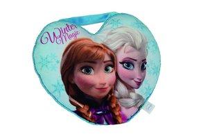 Frozen Herzkissen mit Anna+Elsa
