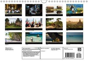 Myanmar - Impressions (Wall Calendar 2015 DIN A4 Landscape)
