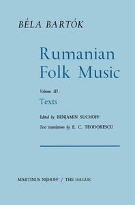 Rumanian Folk Music