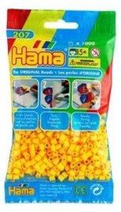 Hama 207-03 - Perlen gelb, 1000 Stück