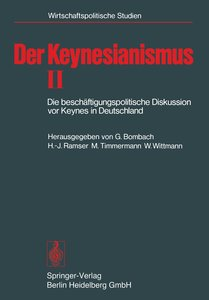 Der Keynesianismus II