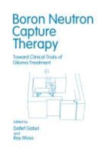 Boron Neutron Capture Therapy