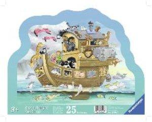 Noahs bunte Arche. Kontur-Rahmenpuzzle 25 Teile