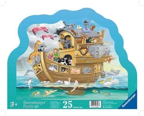 Noahs bunte Arche. Kontur-Rahmenpuzzle 25 Teile - zum Schließen ins Bild klicken