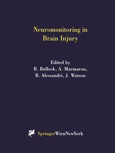 Neuromonitoring in Brain Injury