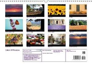 Colors Of Provence (Wall Calendar 2015 DIN A3 Landscape)
