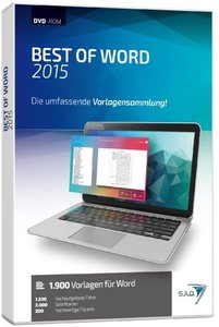 Best of Word 2015 - Word®-Vorlagensammlung
