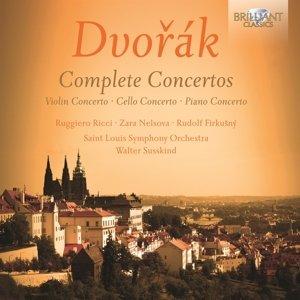 Complete Concertos-Violin/Cello/Piano